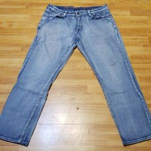 Mens Urban Pipline Jean's sz 36x32 light wash